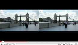London 3D Video