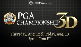 PGA Championship 3D Vision Live Stream