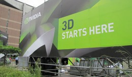 NVIDIA 3D Experience - Outdoor Sign Gro
