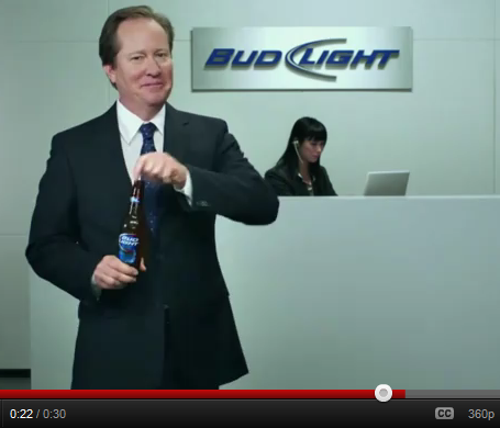Bud Light 3D Werbung